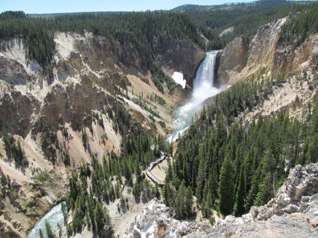 Yellowstone Fall